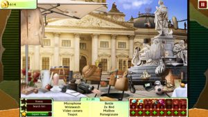 A scene from the game 100% Hidden Objects