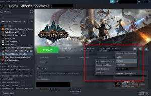 How to create a desktop shortcut using the Steam client
