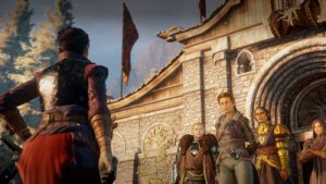 Female protagonist in RPG Dragon Age: Inquisition