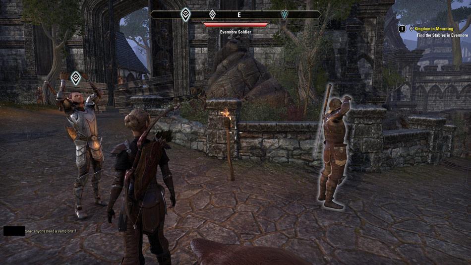 A screenshot from The Elder Scrolls Online