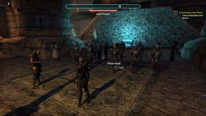 Playing as a female in MMORPG The Elder Scrolls Online