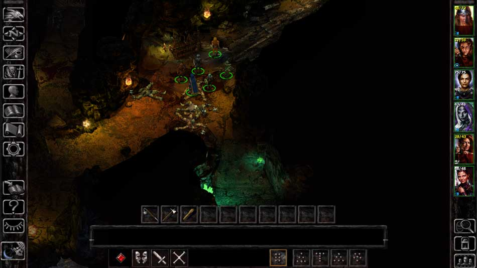 Isometric RPG: A screenshot from Siege of Dragonspear