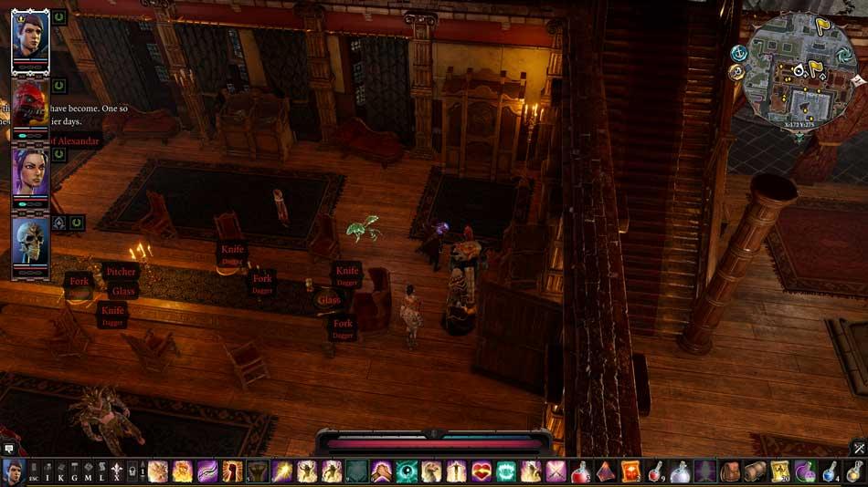 Isometric RPG: Screenshot from Divinity: Original Sin 2