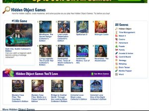 The Big Fish Games store, where you can buy HOGs for the PC.