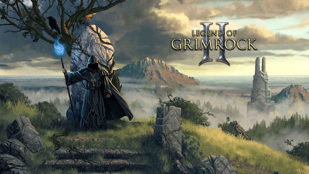 RPG Dungeon Crawler Legend of Grimrock 2 title screen