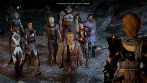 The companions in Dragon Age: Inquisition