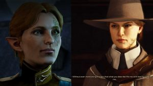 My characters in Dragon Age: Inquisition and Greedfall